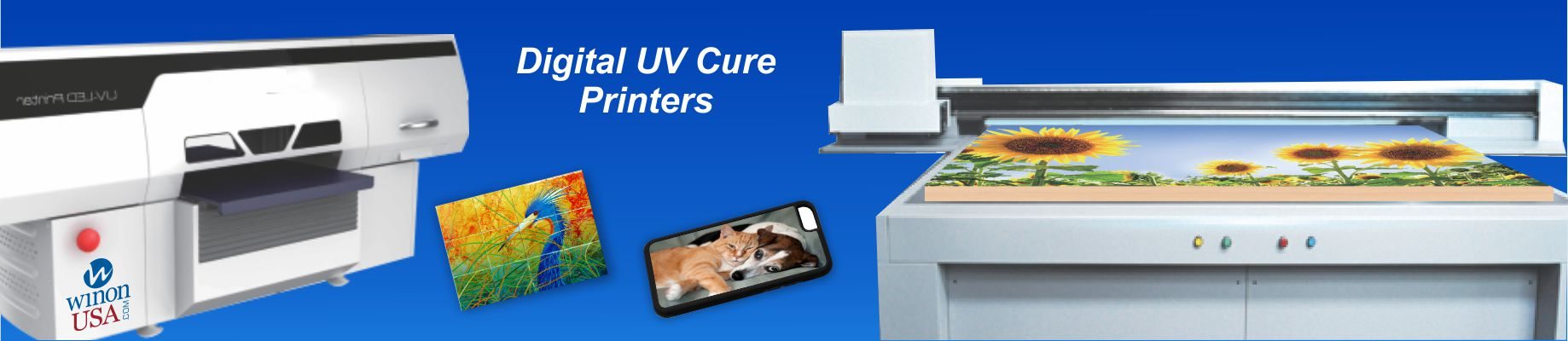 Digital UV Cure Printers